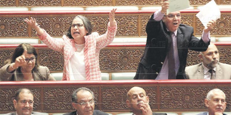L'opposition a repris du mordant