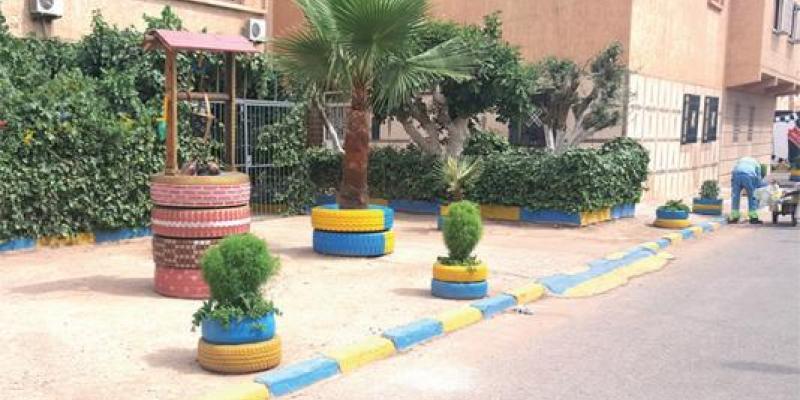 Oujda/Génération Covid-19 : Ces jeunes qui embellissent leurs quartiers