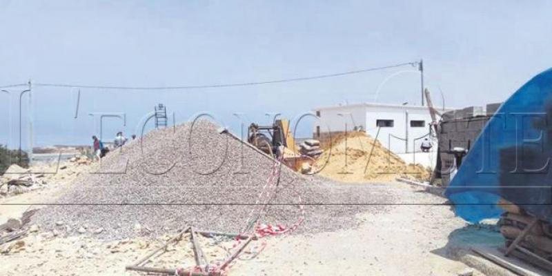 Plage Oualidia: Le pavillon bleu suspendu