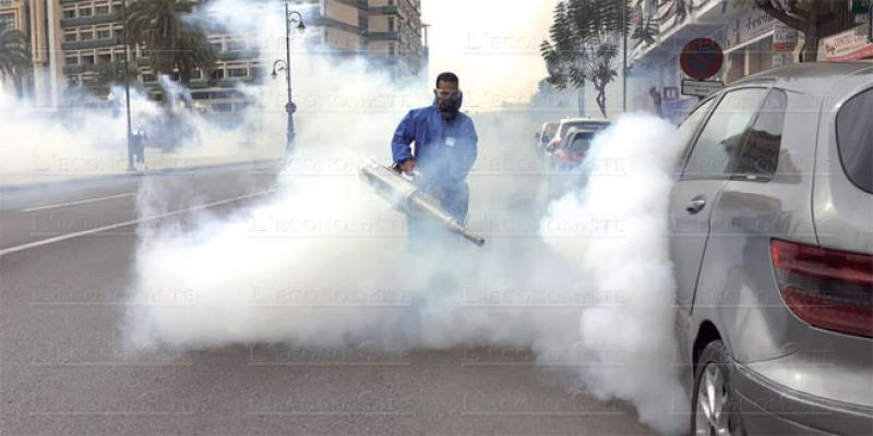 Coronavirus: Oujda en campagne continue de désinfection