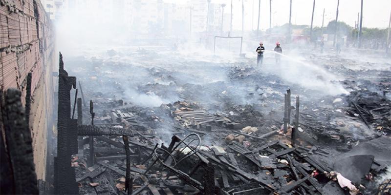 Casablanca: Scène d'apocalypse dans le camp des migrants à Ouled Ziane...