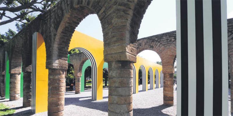 Une œuvre monumentale pour le parc de la Ligue Arabe