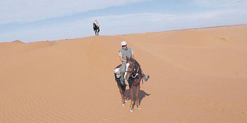 Un Paris-Dakar à cheval