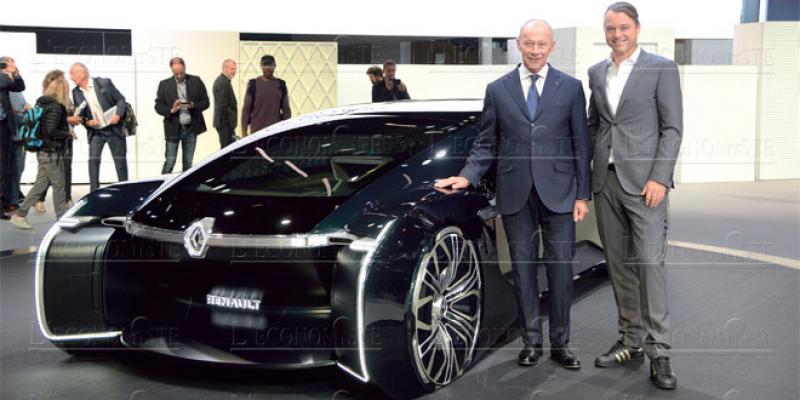 Paris Motor Show: Renault mise sur l'électrique et l'essence
