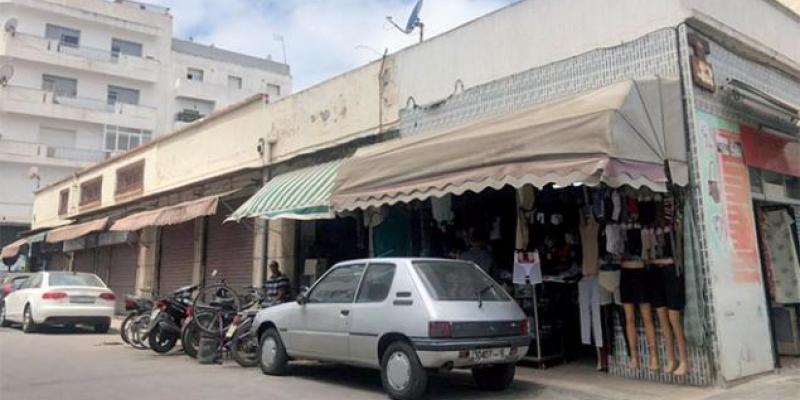 Casablanca Au Maârif, les petits commerces sont tués à petit feu