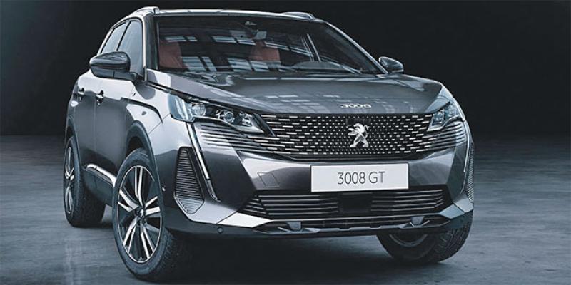 Peugeot 3008 monte en gamme