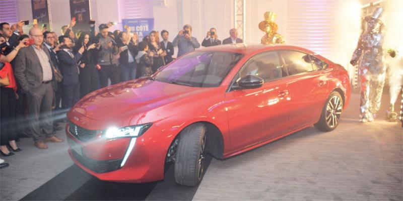 La Peugeot 508 élue Voiture de l'année