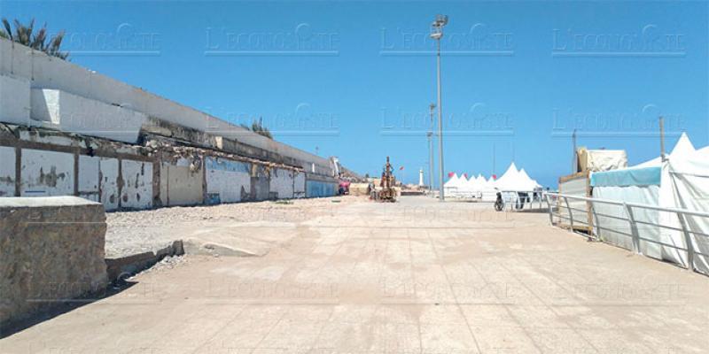 La plage de Rabat sans douches ni toilettes