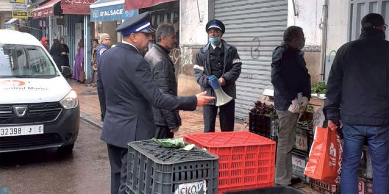 Coronavirus - Casablanca: La police administrative mise à rude épreuve