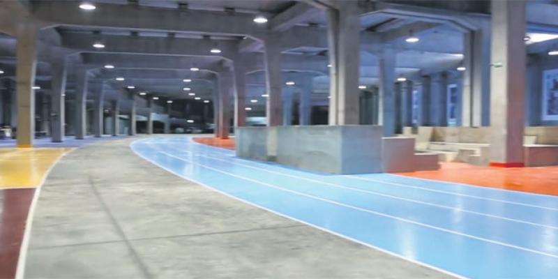 Bouregreg: Sous le pont Hassan II, un espace de sport!