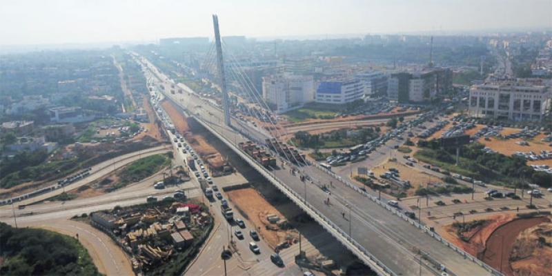 Exclusif: Ultimes tests pour le pont à haubans de Casablanca