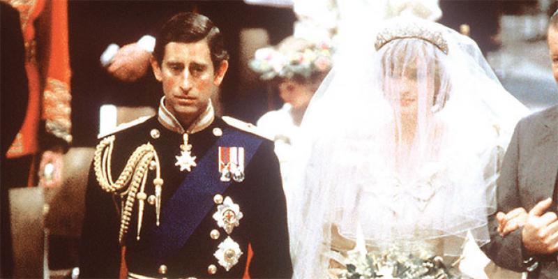 Une part du gâteau de mariage de Charles et Diana à plus de 2.000 euros aux enchères