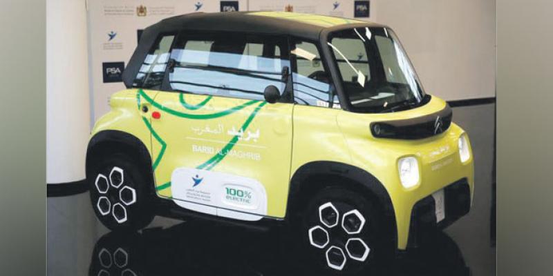 PSA Maroc: Une flotte de 225 Citroën AMI pour La Poste