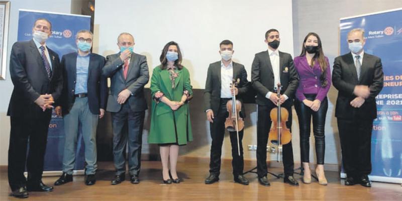 Trophées de l'entrepreneuriat social 2021: Le Rotary Club dévoile ses gagnants