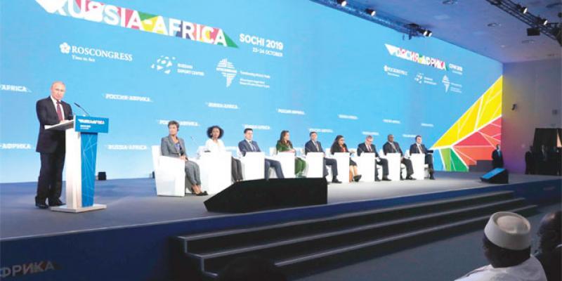Les ambitions russes en Afrique