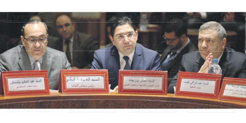 Sahara: Au Parlement, la mobilisation est sonnée