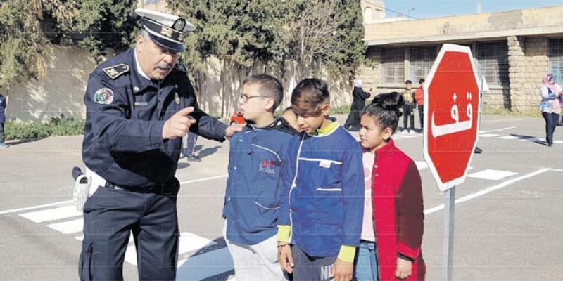 Oujda éduque à la sécurité routière