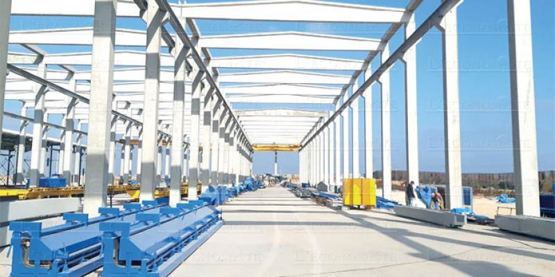 Settat: 124 millions de DH pour une unité de préfabrication