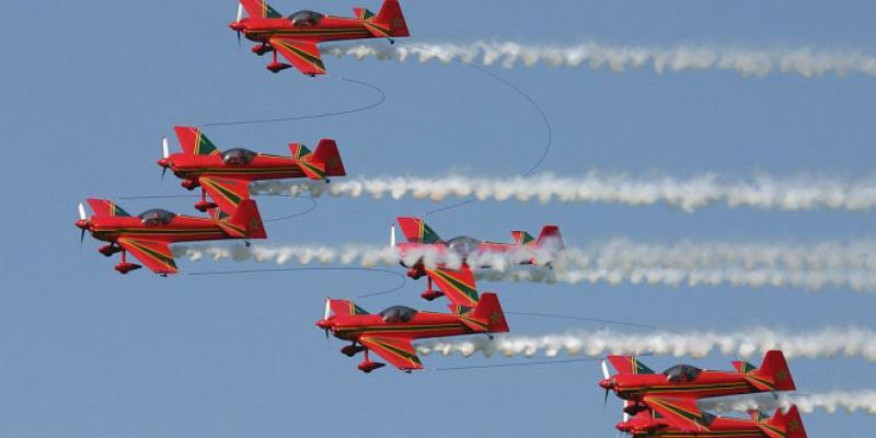 Fête du Trône-Forces Royales Air : des shows aériens à Tanger et M'diq