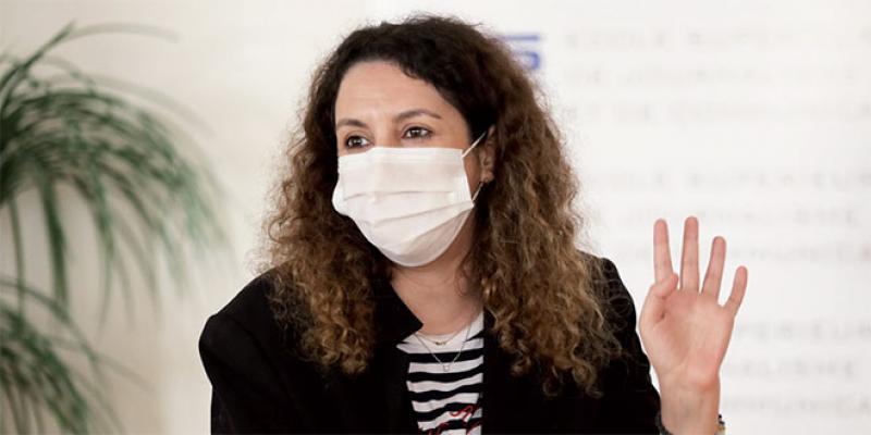 Sonia Terrab: «Je ne me serais jamais imaginée comme une militante»