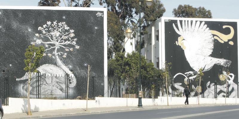 Quand le street art investit les murs de Rabat