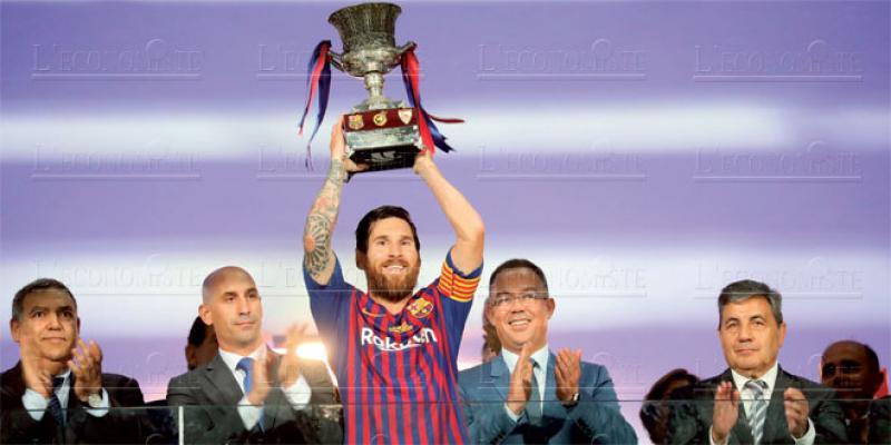 Supercoupe: Tanger déclare sa flamme au FC Barcelone