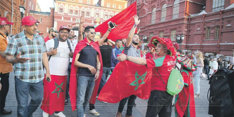 «Allez Maroc!»: La liesse à Moscou