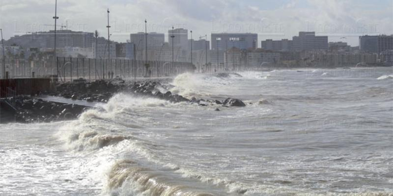 Tanger: Fortes pluies pour la fin de l'automne