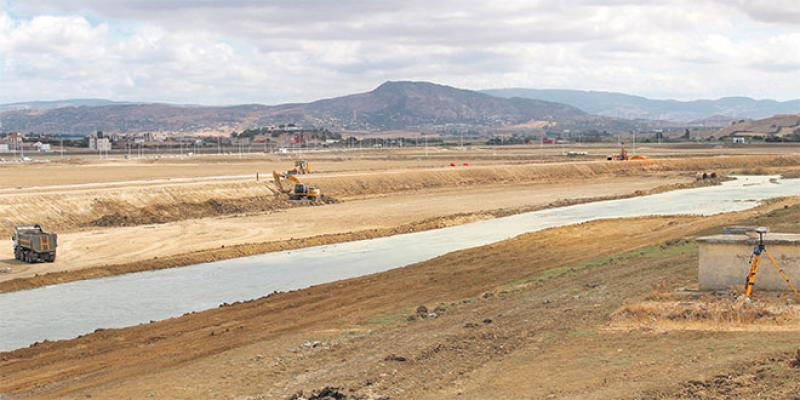 Tanger: La protection contre les inondations continue