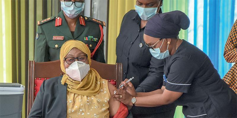 La Tanzanie commence le process de vaccination!