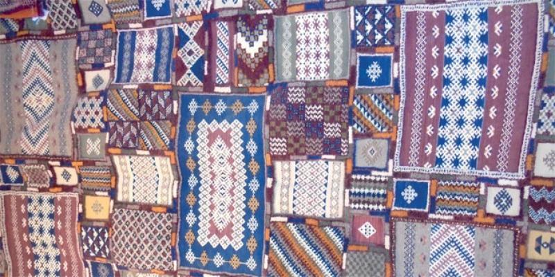 Des tapis Taznakht à l'affiche à Casablanca