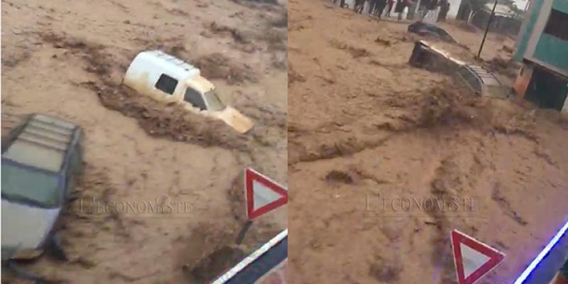 EN IMAGES/ Tétouan: Les fortes précipitations mettent à mal les infrastructures