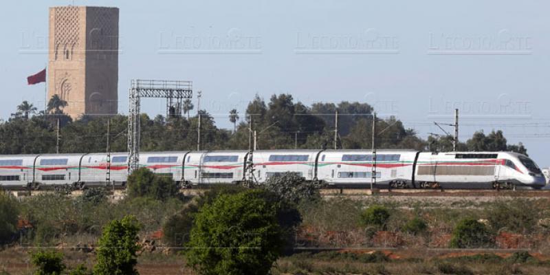 Le premier train à grande vitesse d'Afrique sur les rails!