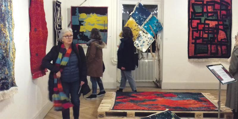 Haut Atlas: Les tisseuses d'Anguelz exposent à Lyon