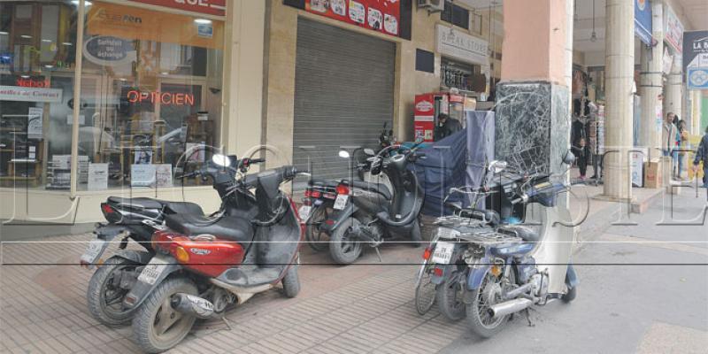 Marrakech: Le Guéliz perd ses trottoirs