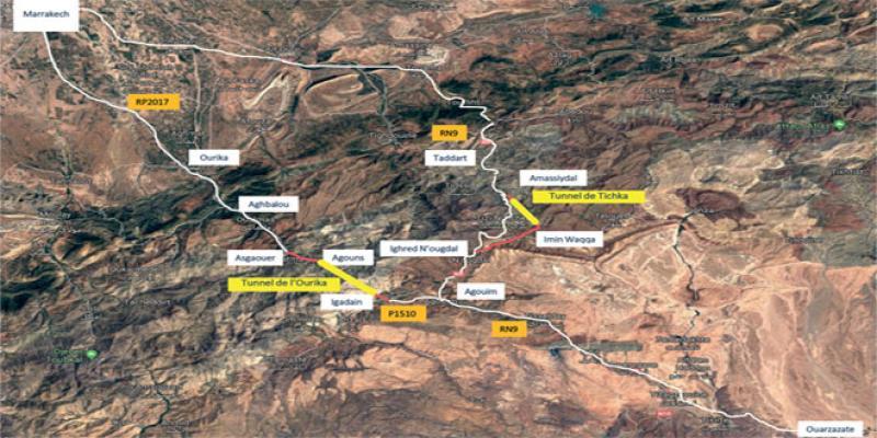 Tunnel Ouarzazate: L'option Ourika se précise