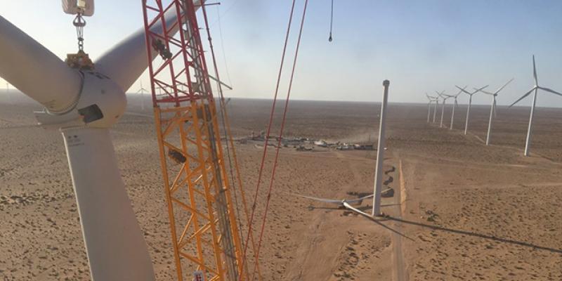 Parc éolien Aftissat : Le britannique Windhoist démarre le chantier