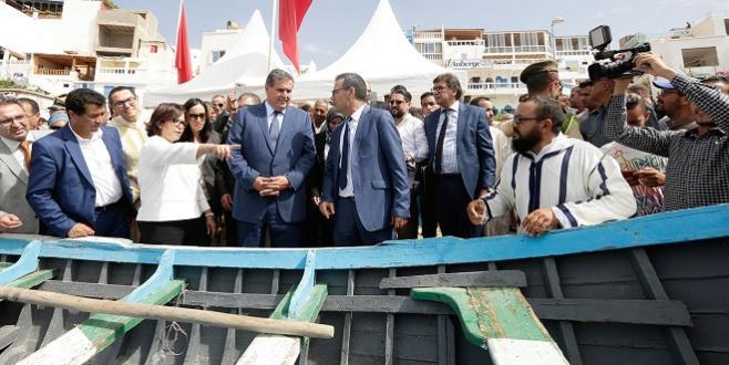 Taghazout : Soutien à la coopérative du Centre de pêche