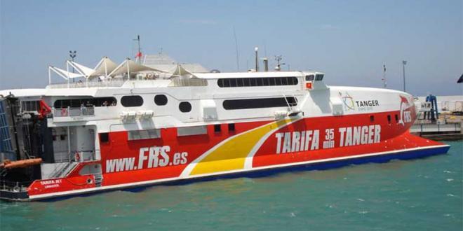 Maritime: 40.000 tonnes transportées par FRS depuis le 19 mars