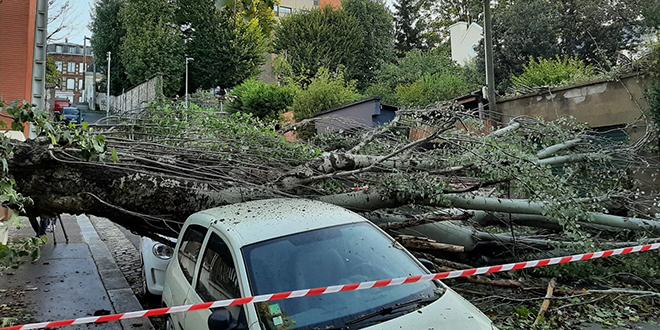 Le nord de la France balayé par la tempête Aurore