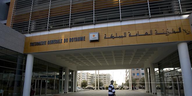 Trésor: Financement intérieur de 54,1 milliards de DH à fin juillet