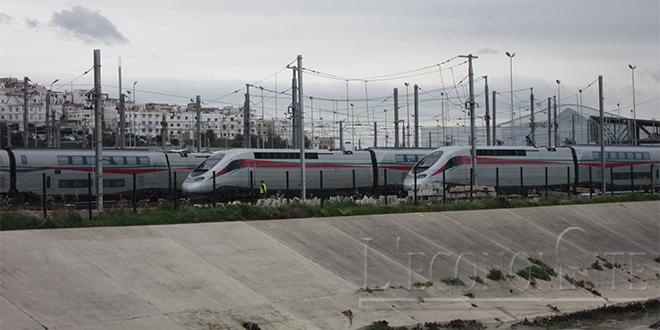 Le Roi baptise le TGV