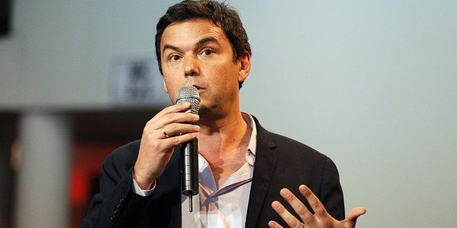 Thomas Piketty arrive