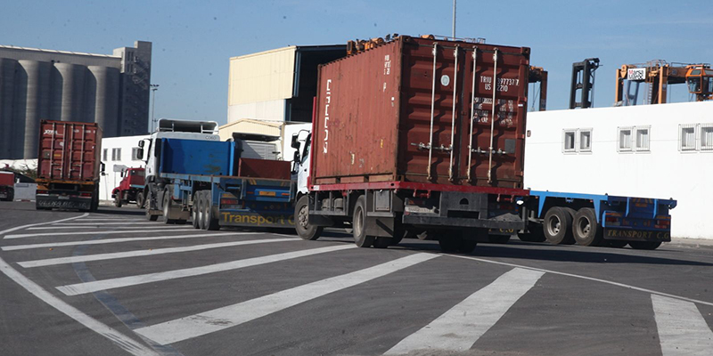 Container les routiers augmentent les tarifs for Tarif container