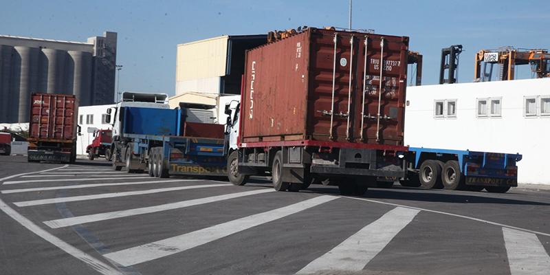 Container les routiers augmentent les tarifs for Tarif container
