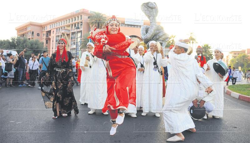Marrakech le festival des arts populaires de retour l for Arts populaires