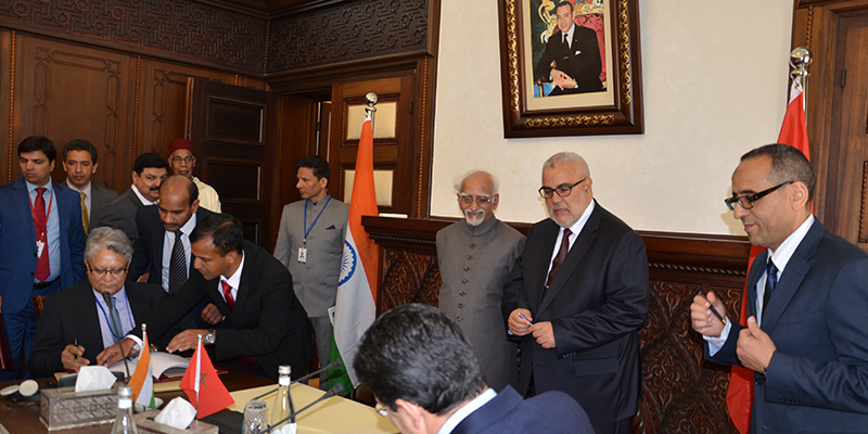 La chambre de commerce maroco indienne se met en place l for Chambre de commerce franco indienne