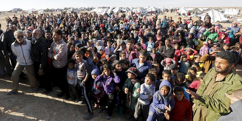 L'Algérie sur le banc des accusés — Réfugiés syriens
