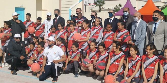 Basket: Tibu Maroc ouvre son 22e centre à Laâyoune