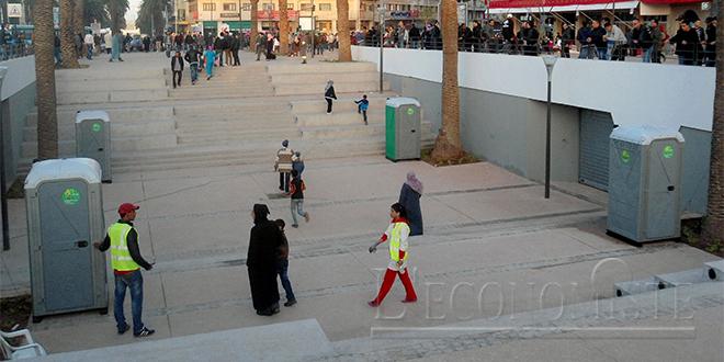 Casablanca : Appel d'offres pour des toilettes publiques